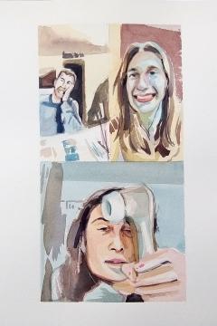 Jose Sanchez Peinado_Watercolor Artist_Lockdown Portraits (7)