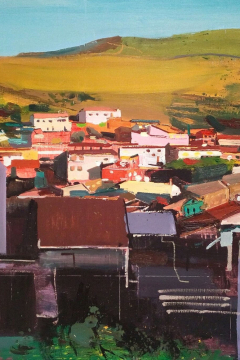 Jose Sanchez Peinado_Oil painter_Outside World series (13)