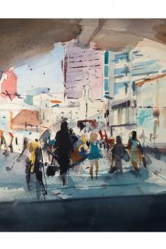 Jose Sanchez Peinado_Watercolour Artist_Watercolour painting (4)